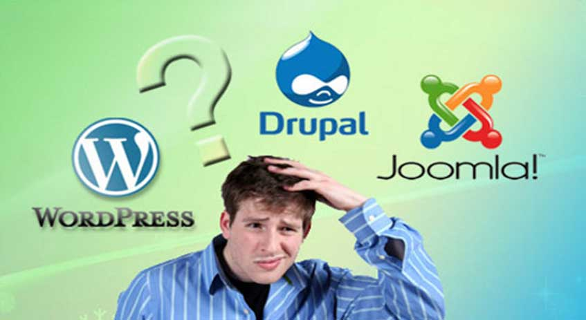 joomla wordpress drupal sce